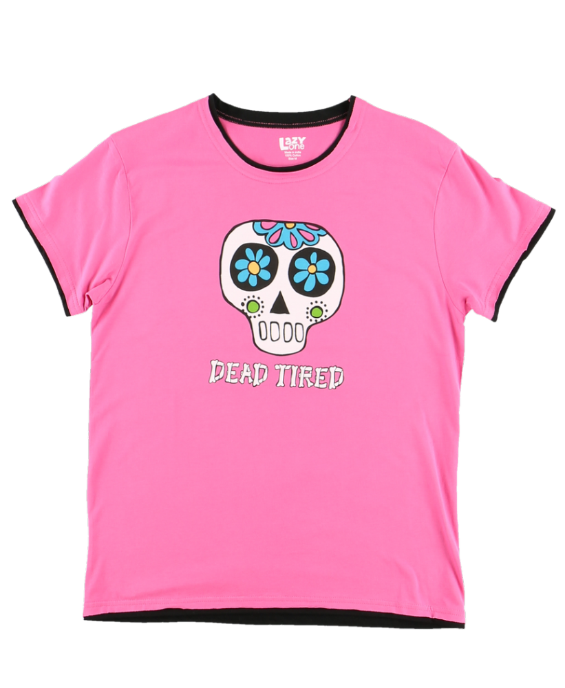 Dead Tired -  Women's PJ T-shirt - LazyOne®